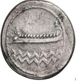 نقود مدينة صيدا عام 342 قبل الميلاد  Ff10