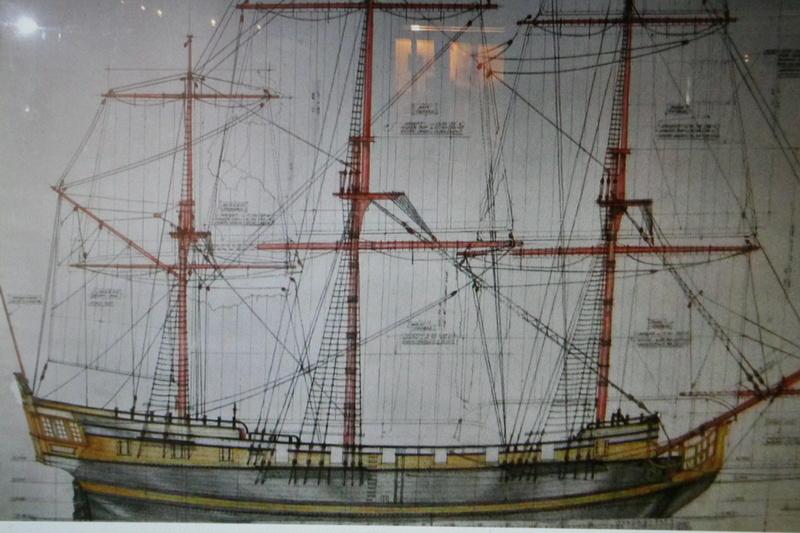 Maquette Voilier du XVIIIème siècle à réparer ! par Glénans Img_0143