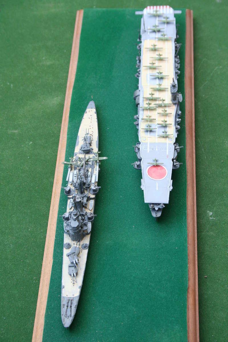 Hiryu ( 1942) 1/700e escorté par croiseur lourd classe Myoko Img_0634