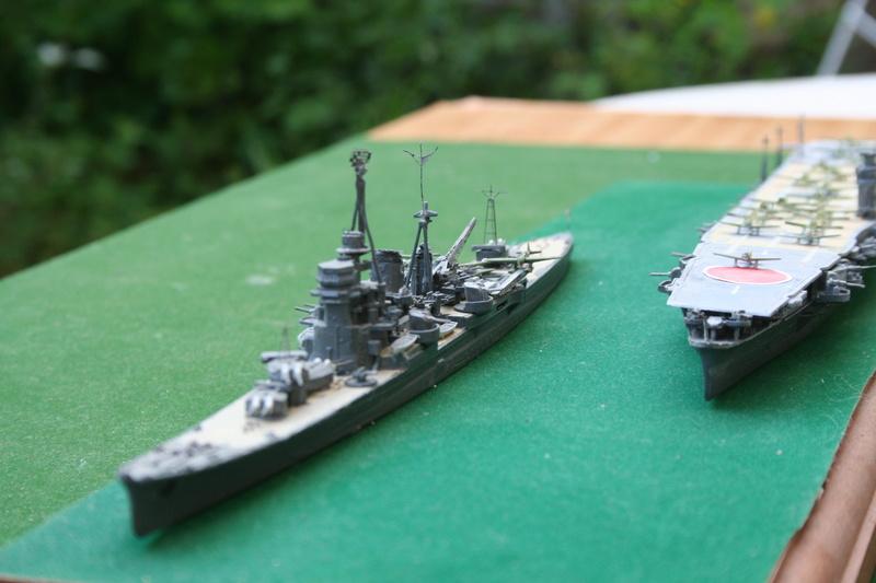 Hiryu ( 1942) 1/700e escorté par croiseur lourd classe Myoko Img_0635