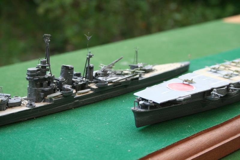 Hiryu ( 1942) 1/700e escorté par croiseur lourd classe Myoko Img_0636