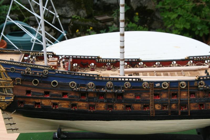L'Ambitieux  un des navires de Tourville par michaud - Page 32 Img_0647