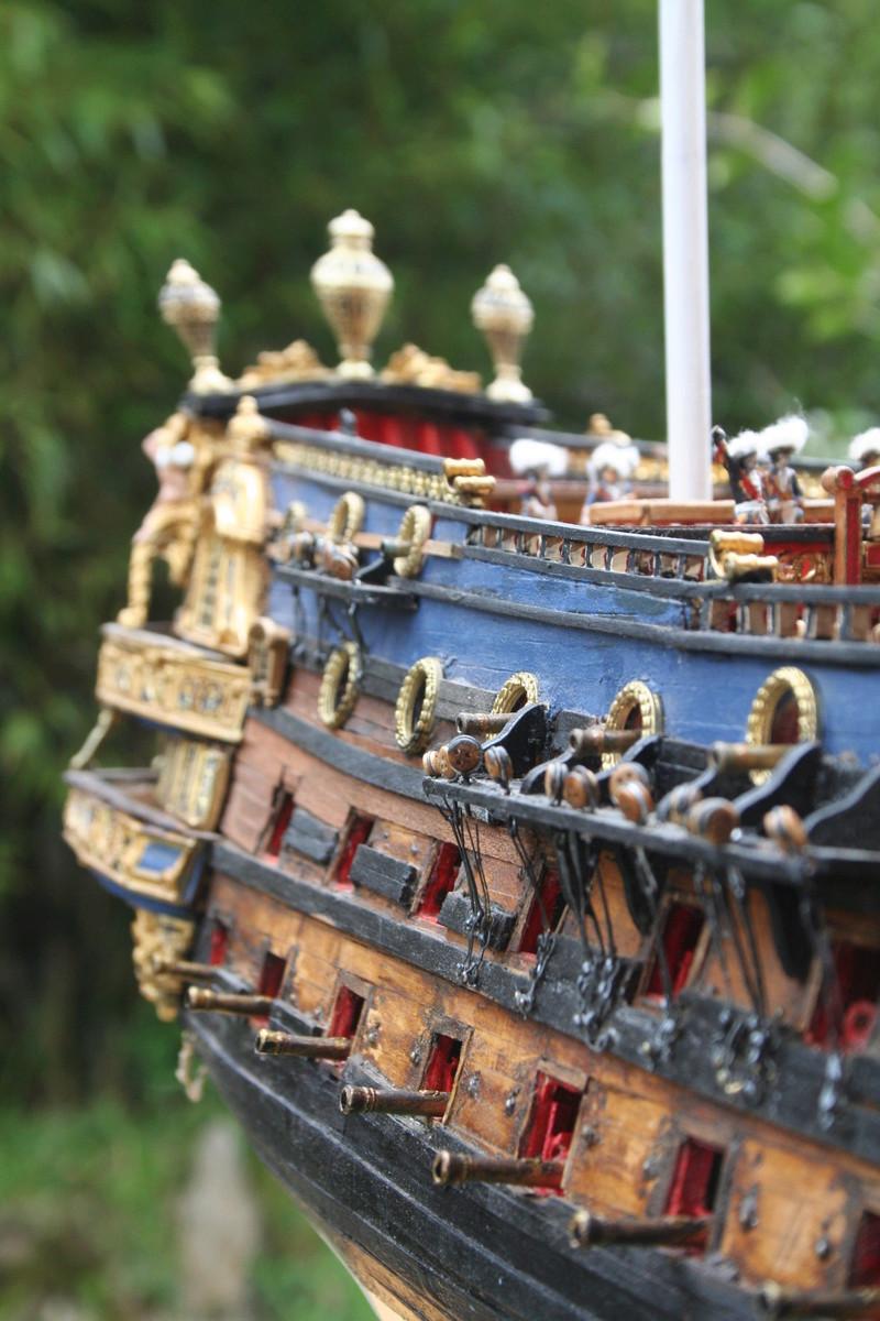L'Ambitieux  un des navires de Tourville par michaud - Page 32 Img_0648