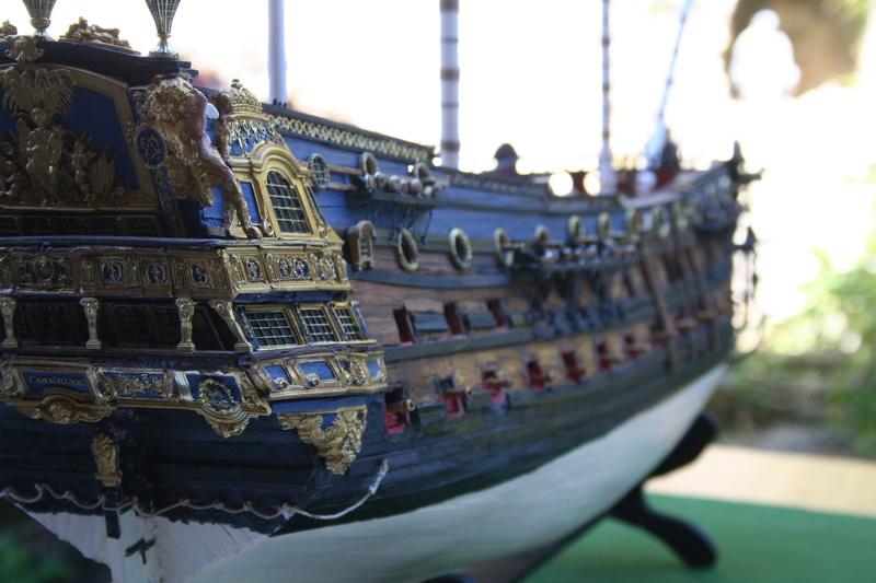 L'Ambitieux  un des navires de Tourville par michaud - Page 32 Img_0662