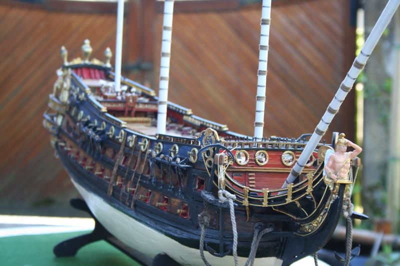 L'Ambitieux  un des navires de Tourville par michaud - Page 32 Img_0665
