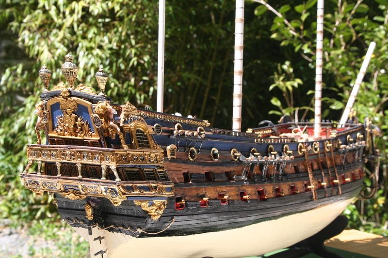 L'Ambitieux  un des navires de Tourville par michaud - Page 33 Img_0666