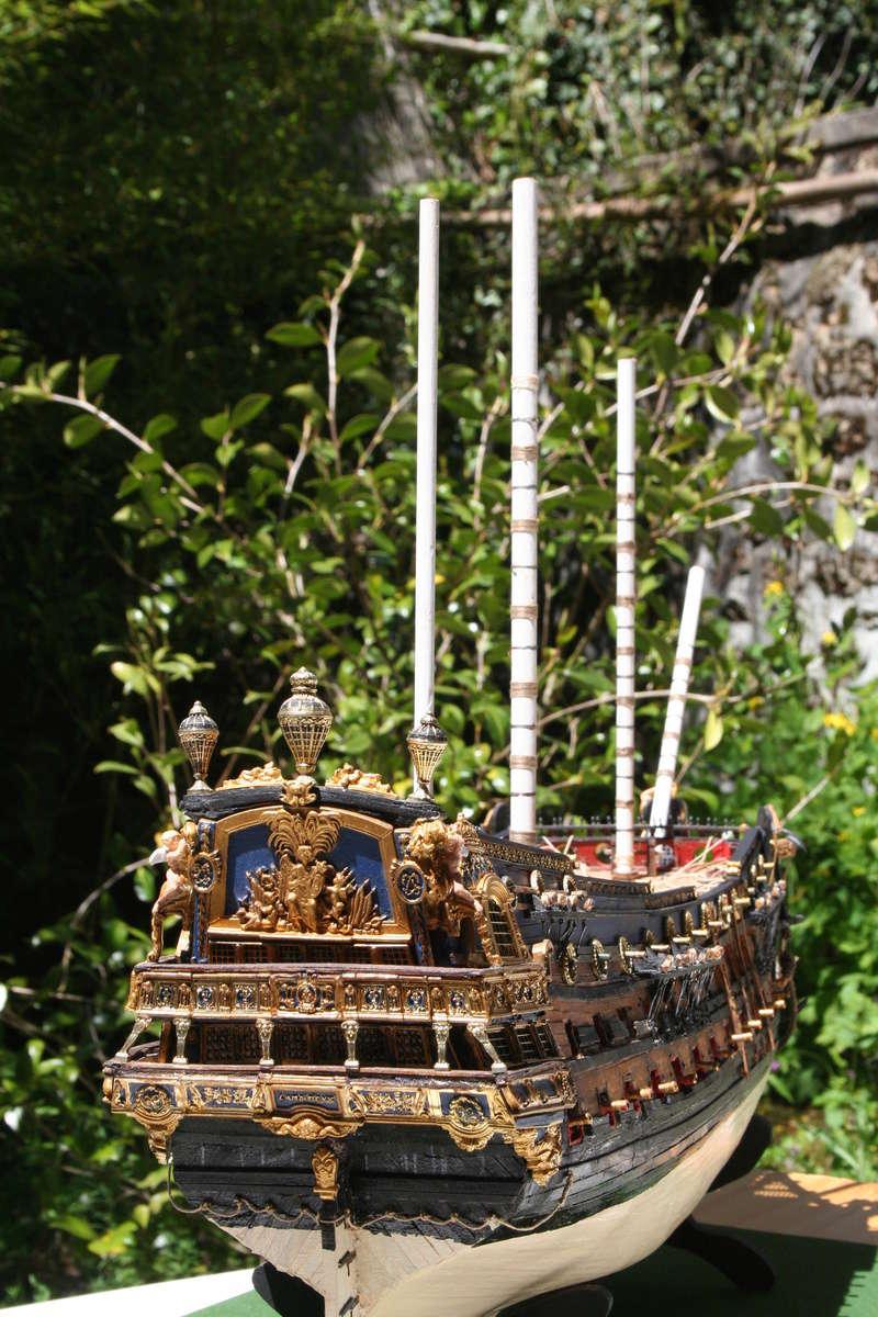 L'Ambitieux  un des navires de Tourville par michaud - Page 33 Img_0667