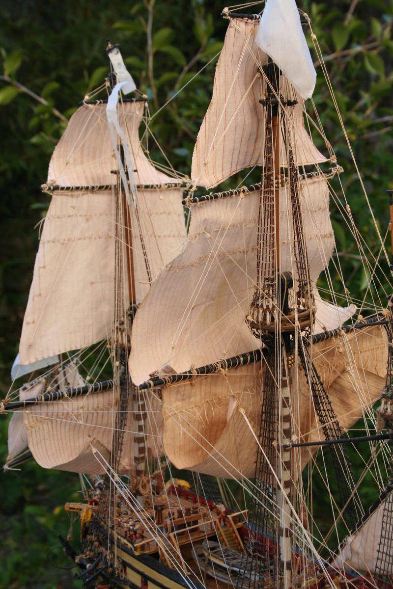 L'Ambitieux  un des navires de Tourville par michaud - Page 33 Img_0672