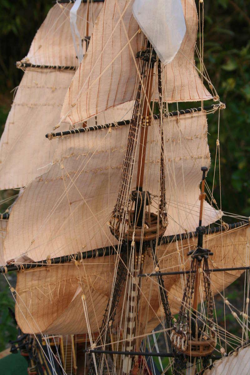 L'Ambitieux  un des navires de Tourville par michaud - Page 33 Img_0673