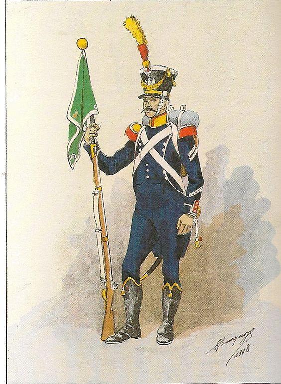 Règlement d'infanterie premier empire 1771de10