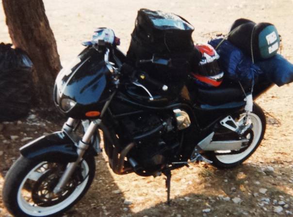 Comment se muscler en conduisant une moto Bandit10