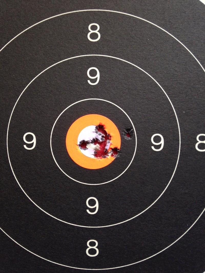Découverte du Mauser suédois M 63 - Page 2 Cible10