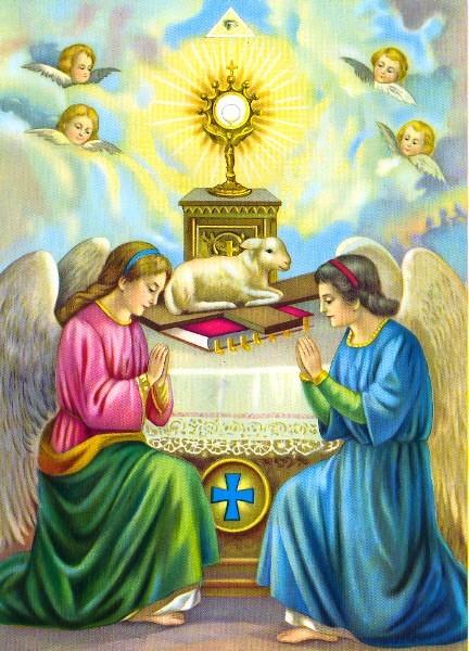 Prions ensemble l'ange de la paix, comme Il nous l'a demandé à Fatima - Page 2 Anges_11