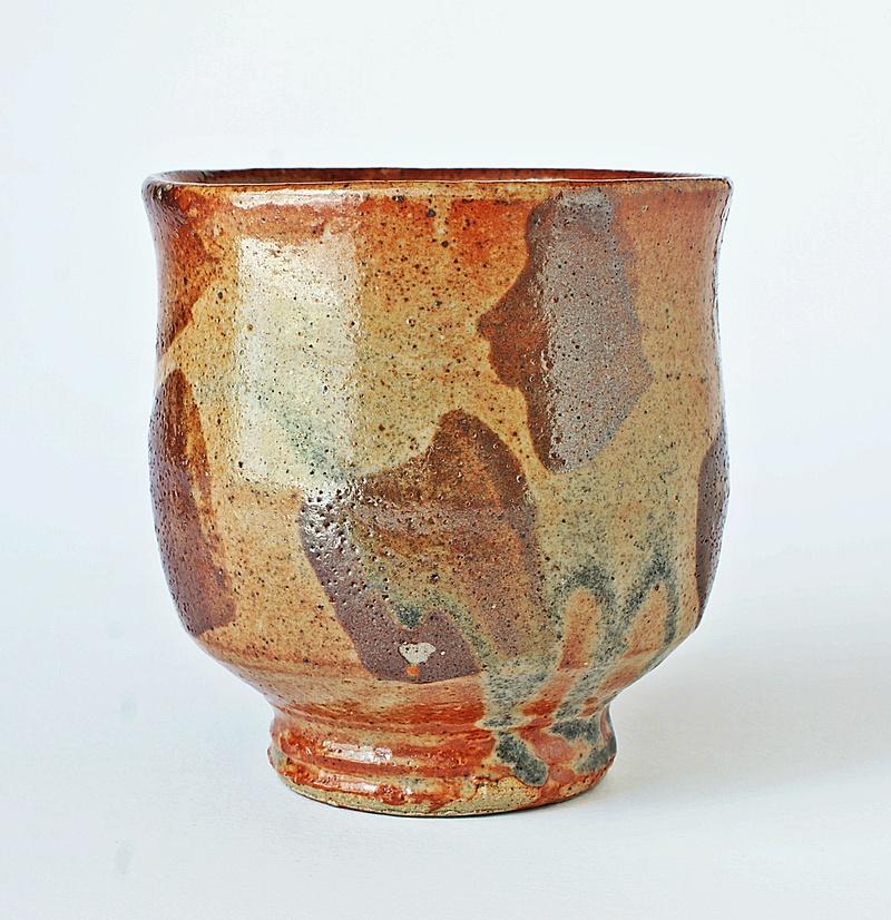 Japanese Style Pottery Chawan -Yunomi Tea Cup - Studio Pottery Tea Bowl Dsc03013