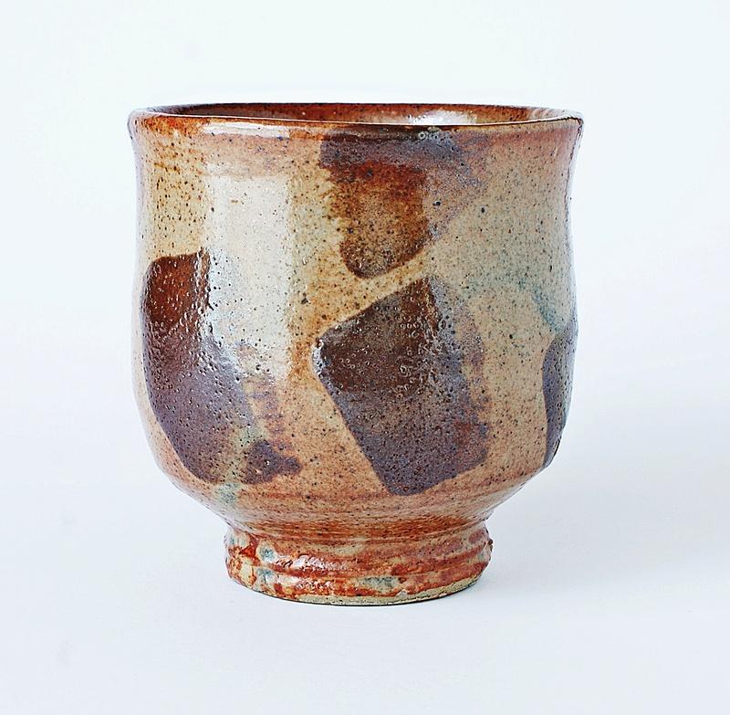 Japanese Style Pottery Chawan -Yunomi Tea Cup - Studio Pottery Tea Bowl Dsc03014