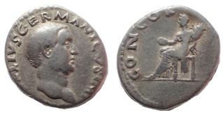 Denier d'Othon et Vitellius Ntz73910