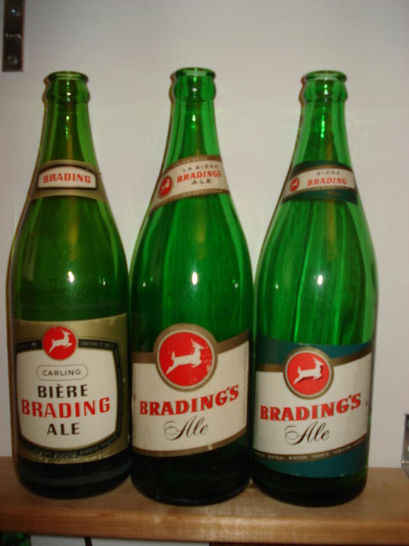 La bière Brading, bouteilles et objets de brasserie. 01410