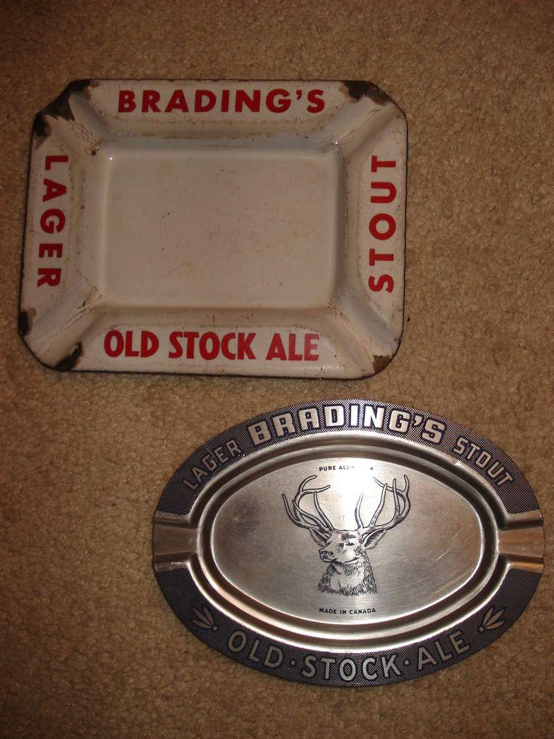 La bière Brading, bouteilles et objets de brasserie. 03210