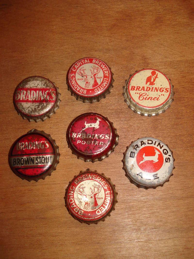 La bière Brading, bouteilles et objets de brasserie. 03610