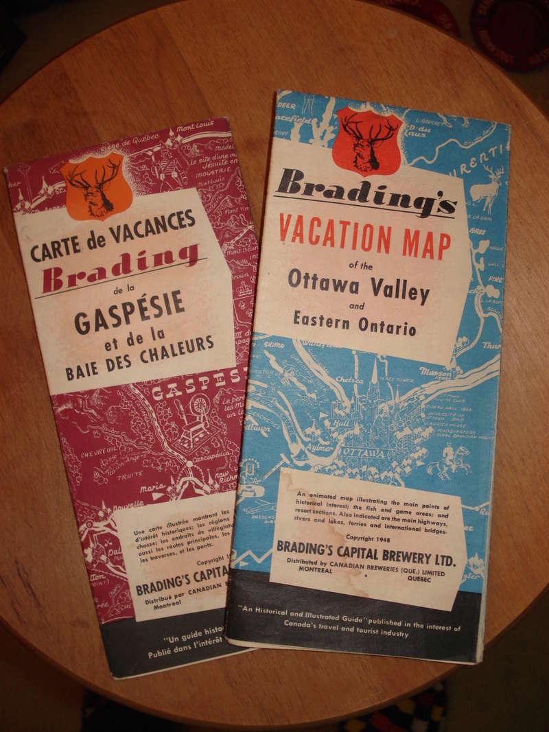 La bière Brading, bouteilles et objets de brasserie. 04410