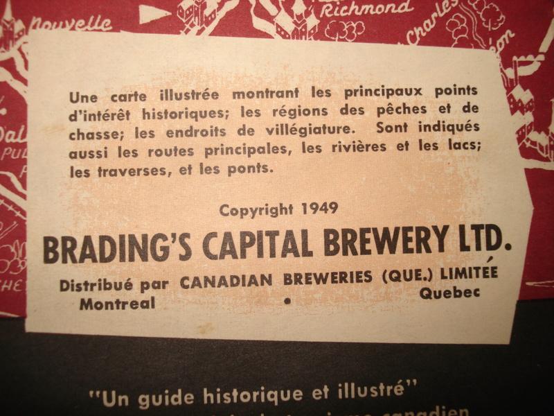 La bière Brading, bouteilles et objets de brasserie. 04610