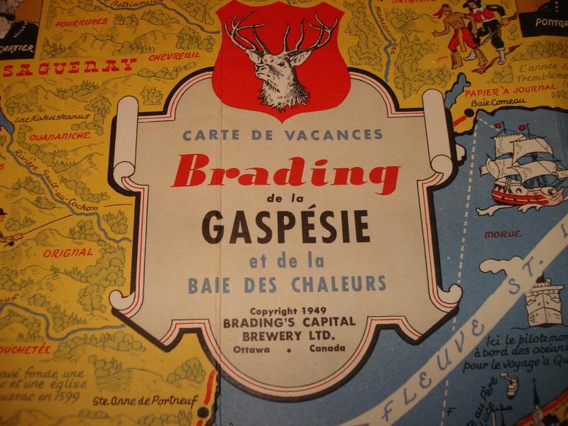 La bière Brading, bouteilles et objets de brasserie. 05310