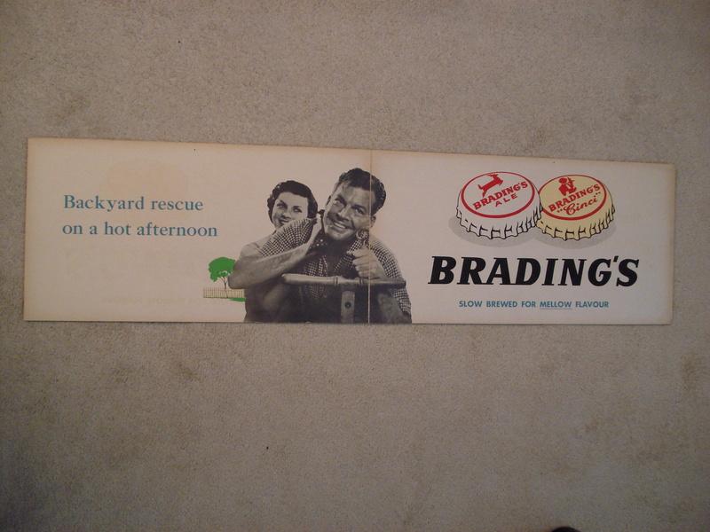 La bière Brading, bouteilles et objets de brasserie. 05610