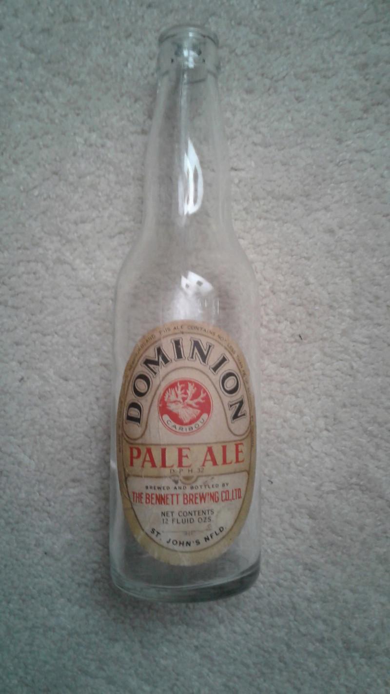 La bière Brading, bouteilles et objets de brasserie. 20170415