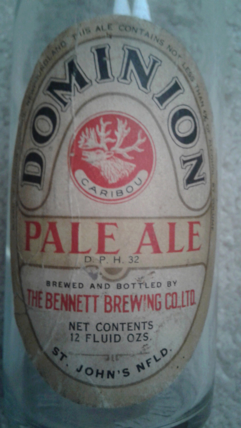 La bière Brading, bouteilles et objets de brasserie. 20170416