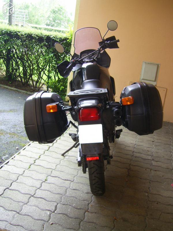 600 transalp avec givi en vente Trslp310