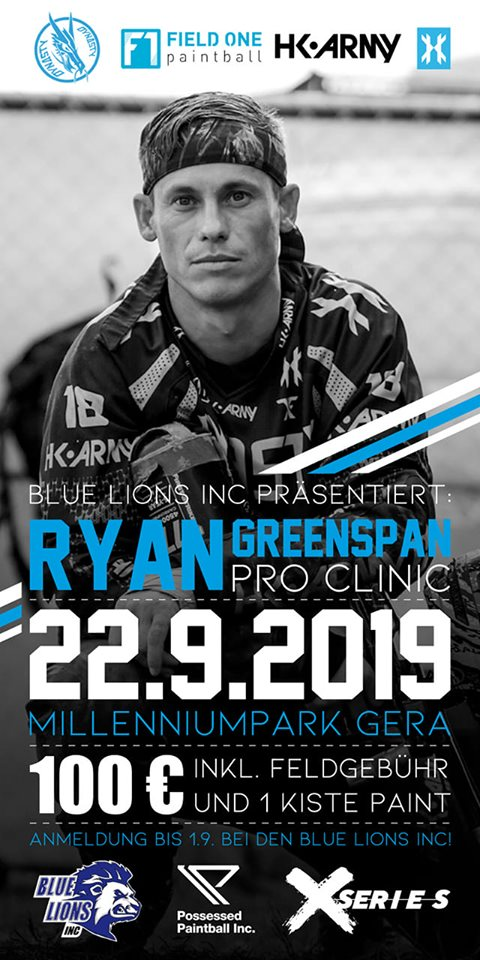 Ryan Greenspan Pro Clinic (Allemagne) 1909ry10