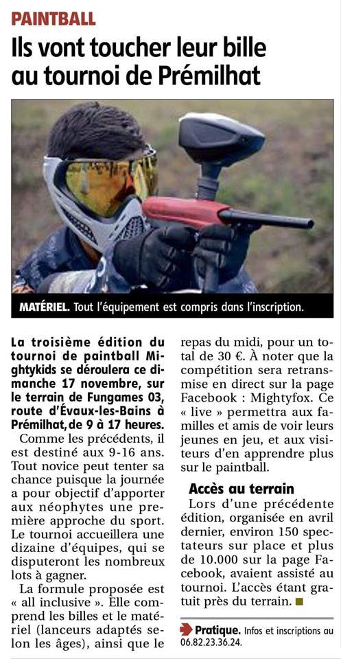 Article Presse: Ils vont toucher leur bille au tournoi de Premilhat (France) 1911ar10