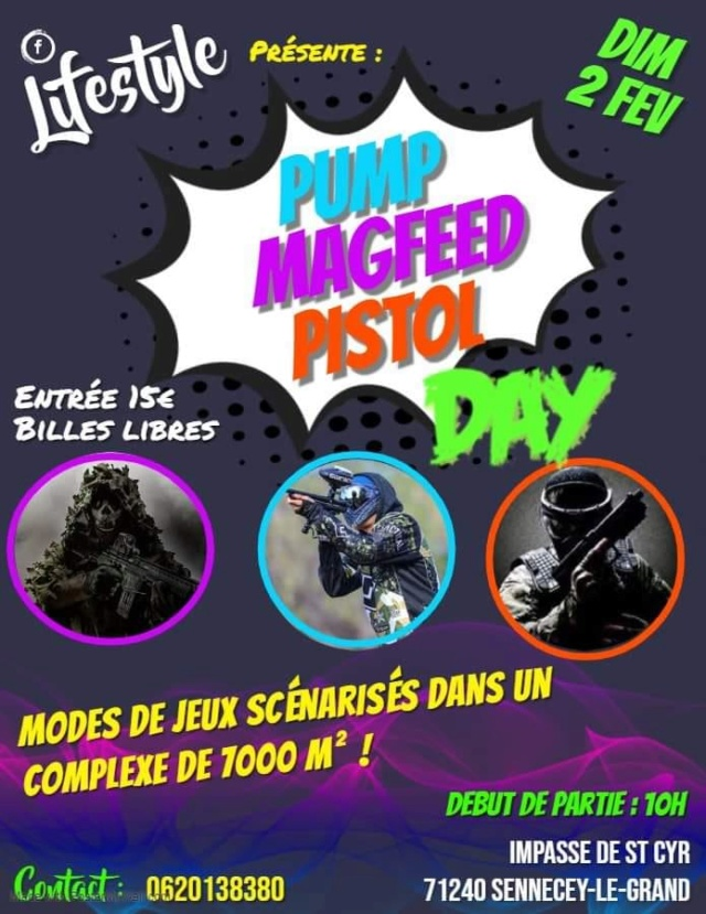 Lifestyle: Pompe Magfeed Pistol Day (France / 71) 2002pu10