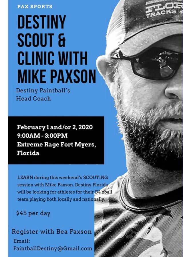 Destiny Scout Clinic Mike Paxson (USA / FL) 2002sc10