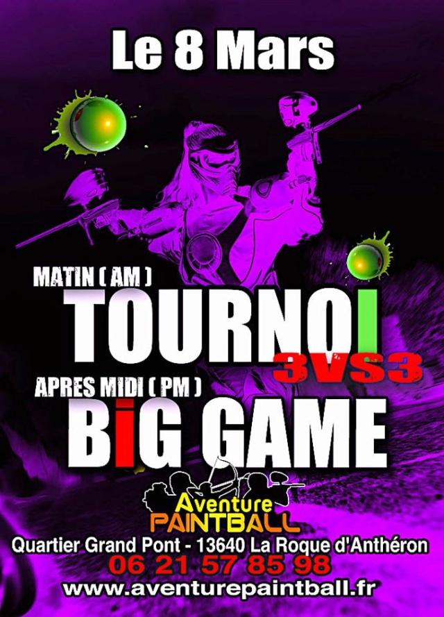 Aventure Paintball: Tournoi 3M & Big Game (France / 13) 2004av10