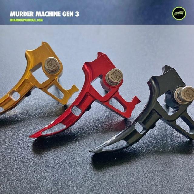 Infamous Simple détente Murder Machine gen 3 20emek10