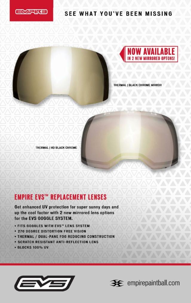 Empire EVS écrans Black Chrome Mirror & HD.  20evs10