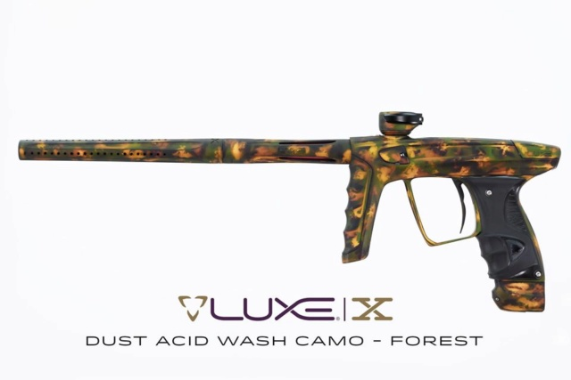 DLX Luxe X: Dust Acid Wash Camo Forest 20luxe10