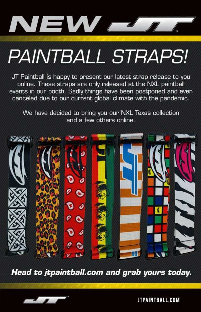 JT Paintball Straps Texas Collection 2020 20stra10
