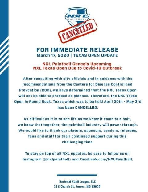 NXL USA: Texas Open annulé / Cancelled (USA) 20texa10