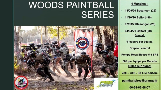 Woods Paintball Series 4M (France / 25) 20wood10