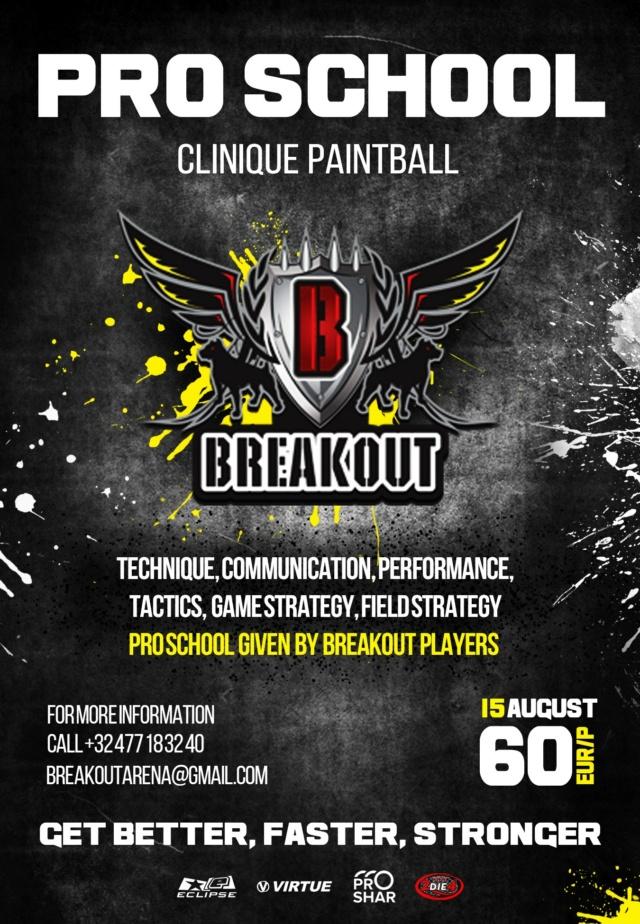 Breakout: Pro School Clinic (Belgique) 2107cl10