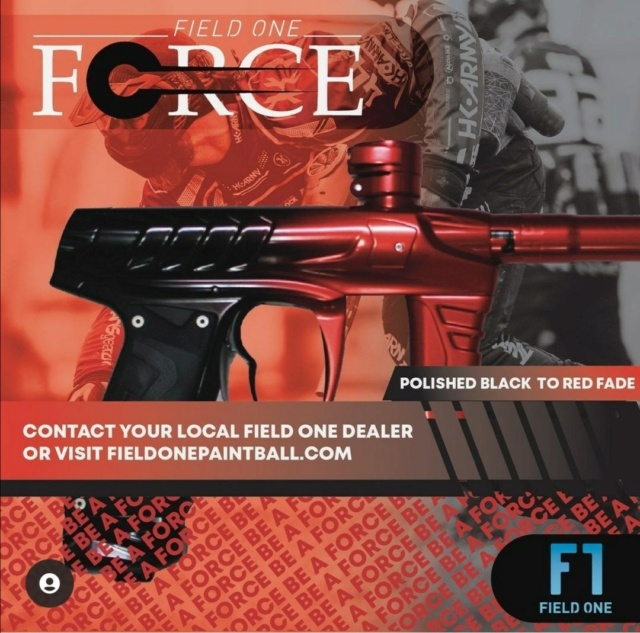 Field One Force Polished Rouge Fade Noir 21thef10
