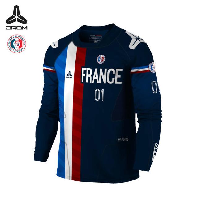 FFP / Drom: Jersey officiel de l'équipe de France 2017 Agilit10