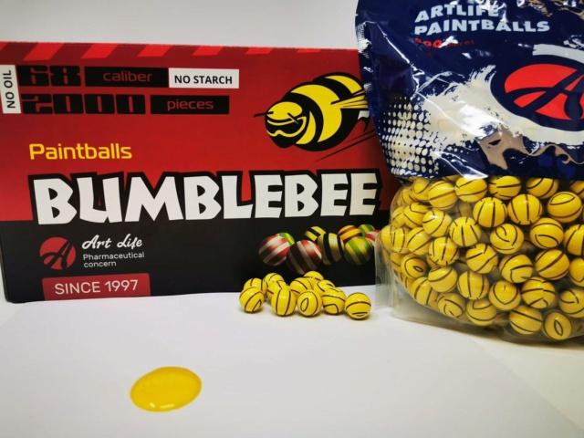 Art Paintball Bumblebee Banana Bumble10