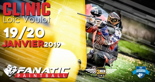 Fanatic Paintball: Clinic Loïc Voulot (France / 33) Clinic13