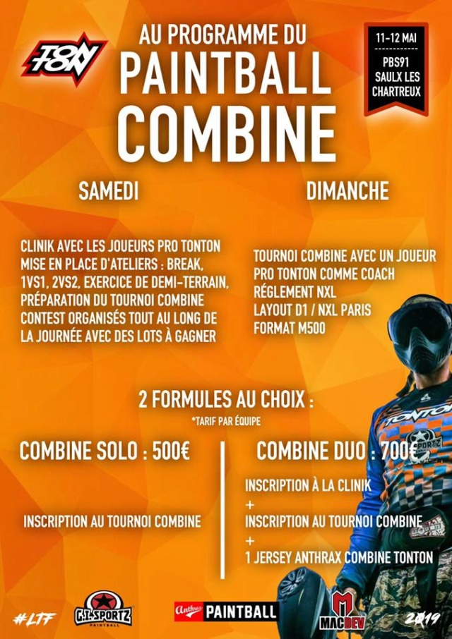 Paintball Combine France 2019 (France / 91) Combin10
