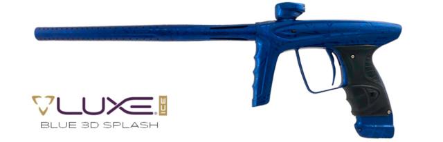 DLX Luxe Ice Blue 3D Splash Dlxlux20