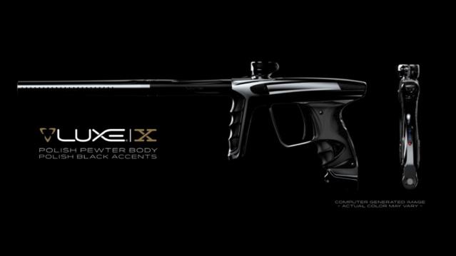 DLX Luxe X Polish Pewter Polish Black Accents Dlxlux26