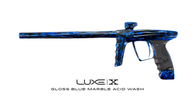 DLX Luxe X Gloss Blue Marble Acid Wash Dlxlux37